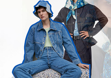 Less Is More -- The Silhouette Trend for Women's Denim Jackets