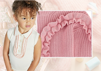 A Sweet Childhood -- The Craft Detail Trend for Girls' Knitwear