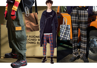 Light Urban Outdoor Style -- The Fabric Trend for Men's Trousers