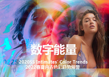 Digital and Energetic -- The Color Trend for Women's Underwear and Loungewear