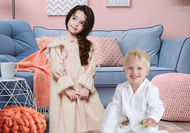 Comfortable Home Style -- The Silhouette Trend for Kids' Loungewear