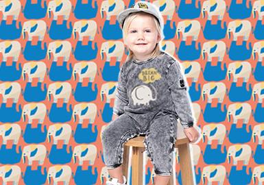 Elephants -- The Pattern Trend for Infants' Wear