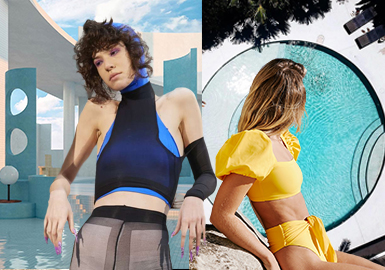 Chic and Multifunctional -- The Silhouette Trend for Women's Swimwear