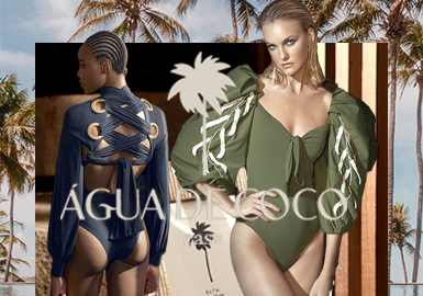 INDO Series -- Agua De Coco The Women's Swimwear Designer Brand