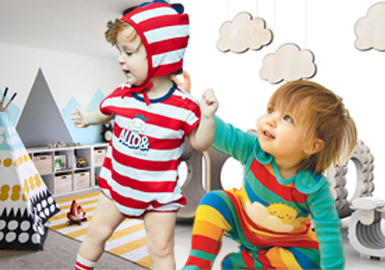 Fun and Vigorous -- The Trend for Kidswear Knitted Fabrics