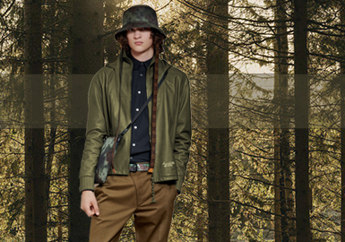 Green Moss -- The Color Trend for Men's Leather and Fur Clothing