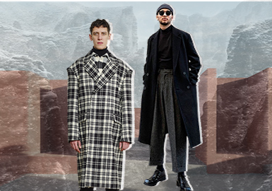Fashion Style -- The Silhouette Trend for Men's Overcoats