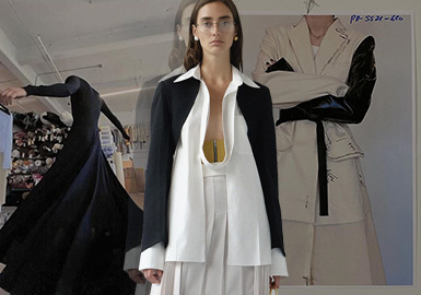 Both Hard and Soft -- The Catwalk Analysis of Peter Do Womenswear