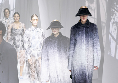 Light and Shadow -- The Catwalk Analysis of Fendi Menswear and Womenswear
