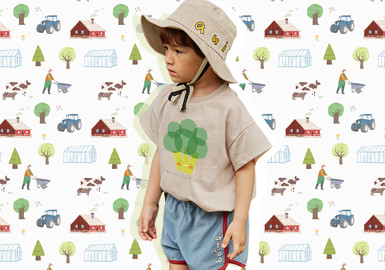 Fun on the Farm -- The Pattern Trend for Kidswear