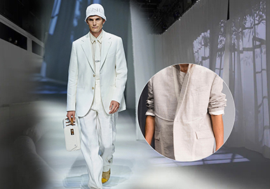 Suits & Sets -- The Comprehensive Analysis of Fabrics on Menswear Catwalks