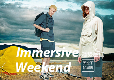 Immersive Weekend -- The Confirmation of Menswear Color Trend