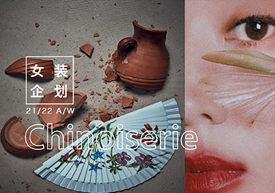Chinoiserie -- Theme Design & Development for Womenswear