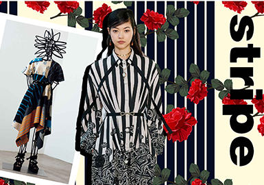 Recreated Stripes -- The Pattern Trend for Womenswear