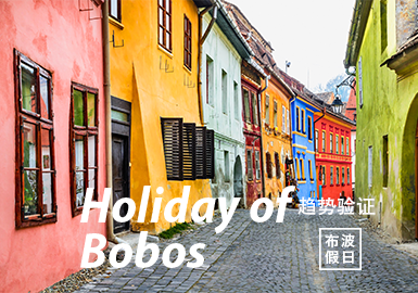Holiday of Bobos -- The Confirmation of Womenswear Color Trend