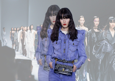 Sustainable Denim -- The Comprehensive Analysis of Denim on Womenswear Catwalks