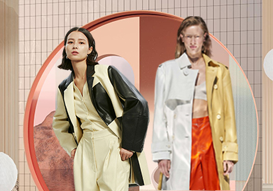 Contrast and Reorganization -- The Craft Trend for Women's Leather and Fur Clothing