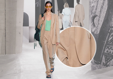 Suits & Sets -- The Comprehensive Analysis of Fabrics on Womenswear Catwalks