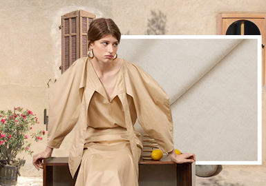 Back to the Essence -- The Trend for Women's Cotton and Linen Fabrics