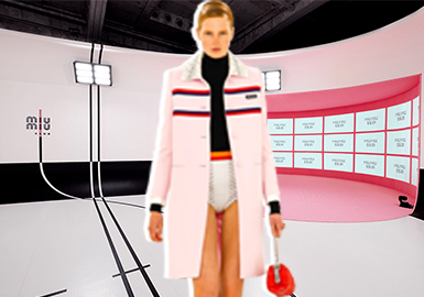 Dreamy Gymnasium -- The Catwalk Analysis of Miu Miu Womenswear