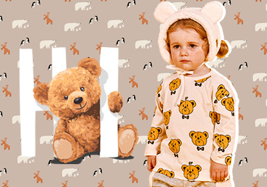 Cute Bears -- The Pattern Trend for Infants' Wear
