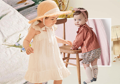 Natural and Original -- The Fabric Trend for Infants' Wear