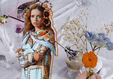 Artistic Drawing -- The Pattern Trend for Women's Silk Loungewear