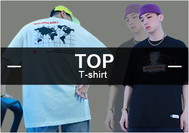 T-Shirts -- Popular Items in Menswear Markets