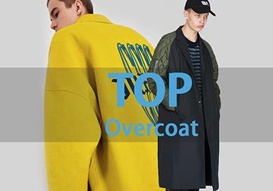 Overcoat -- 18/19 A/W Men's Hot Item in Market