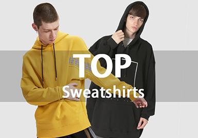 Sweatshirt -- 18/19 A/W Men's Hot Item in Market