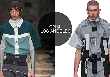 C2H4 Los Angeles -- Analysis of A/W 19/20 Menswear Brands at Catwalks