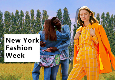Rebirth & Close to Nature -- The Comprehensive Analysis of New York Fashion Week