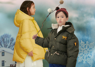 Multifunctional Protection -- The Silhouette Trend for Girls' Puffa Jackets