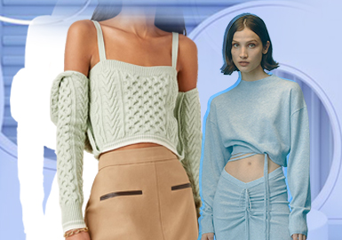 Simple, Elegant and Comfort -- The Silhouette Trend for Women's Knitwear Sets