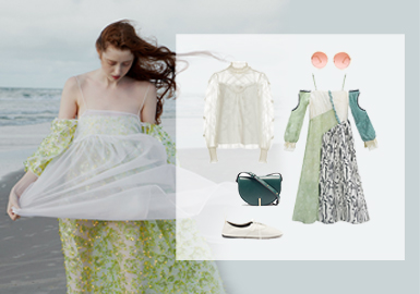 Clear Layers -- Clothing Collocation for Womenswear