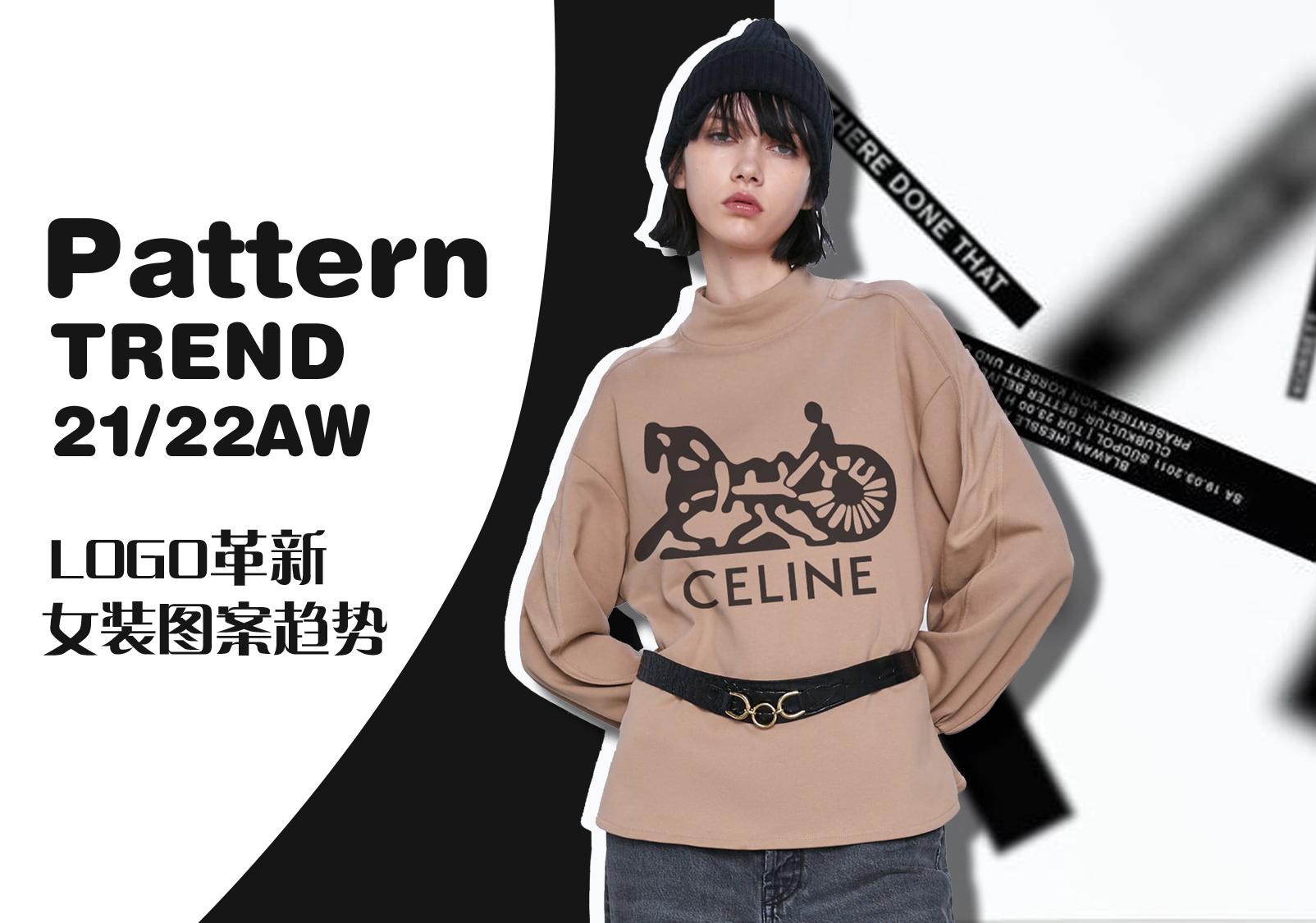 Renewed Logos -- The Pattern Trend for Womenswear