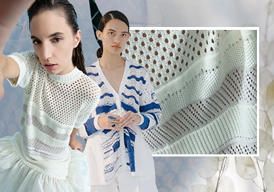 Clear Texture -- The Craft Trend for Women's Knitwear