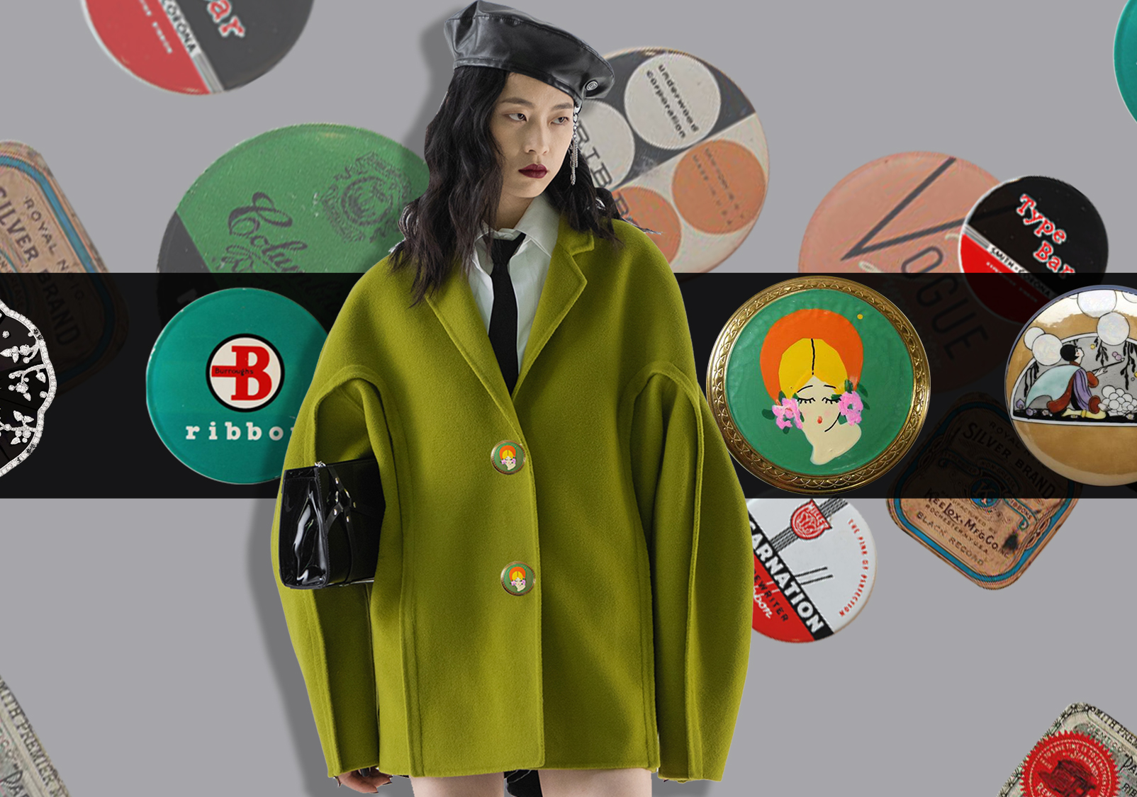 Decorative Buttons -- The Accessory Trend for Womenswear