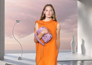 New Optimism -- The Color Trend for Women's Dresses