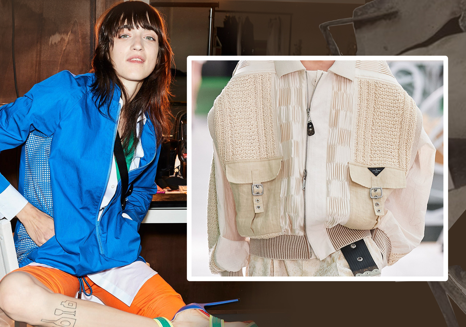 Creative Expressions of Collage -- The Detail Trend for Women's Outerwear