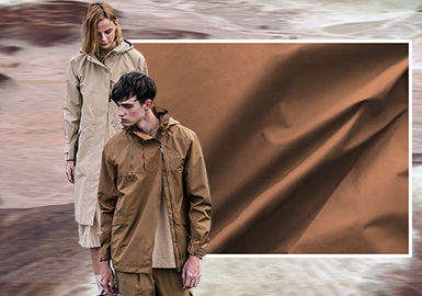 Blurred Wilderness -- The Fabric Trend for Men's and Women's Outerwear