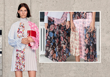 Blended Splicing -- The Craft Detail Trend for Womenswear