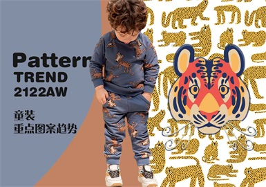Charming Big Cats -- The Pattern Trend for Kidswear