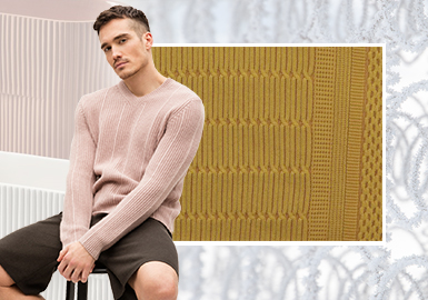 Trace for Eternity丨Elegant Texture -- The Craft Trend for Men's Knitwear (Knitting Skills)