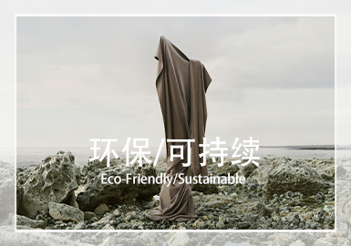 Eco-Friendly/Sustainable --  The Original Ecological Fabric Trend for S/S 2022