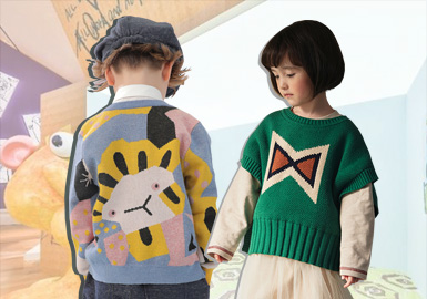 Warm Knitwear -- The Item Analysis of Kidswear Designer