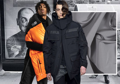 Fashion Against the Cold Winter -- The Fabric Trend for Men's Street Cotton-Padded Clothes and Puffa Jacket