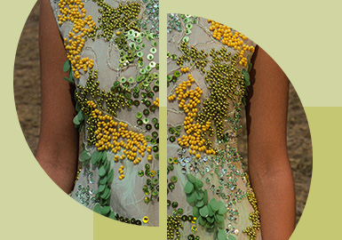 French Embroidery   Gorgeous -- The Pattern Craft Trend for Womenswear