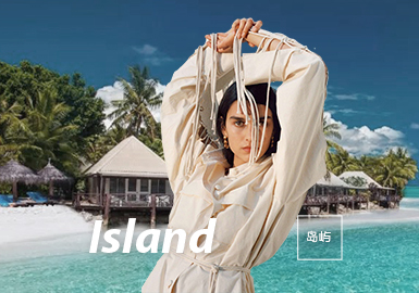 Island -- The Fabric Trend for S/S 2022 Womenswear Theme