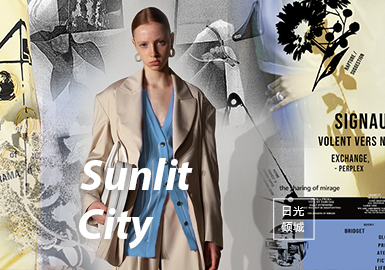 Sunlit City -- The Theme Pattern Trend for S/S 2022
